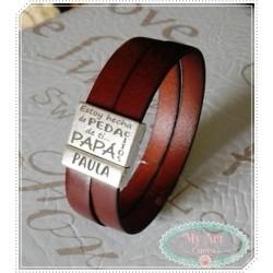 Pulsera cierre magnetico personalizado PAPA