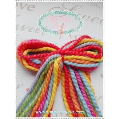 Lazos LANA-colores primavera/verano  pack 14 lazos