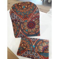 PortaMascarilla mandalas colores