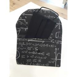 PortaMascarilla  ecuaciones/ negro
