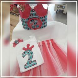 Pack corona y conjunto tutu  y camiseta Minnie