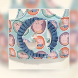 Corona cumpleaños Peppa Pig