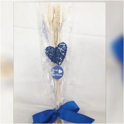 Palma corazon azul Real Oviedo