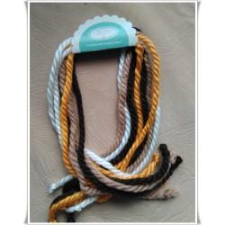 Lazos de lana- pack 04 -  8lazos