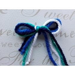 Lazos de lana -  pack 06 8 lazos
