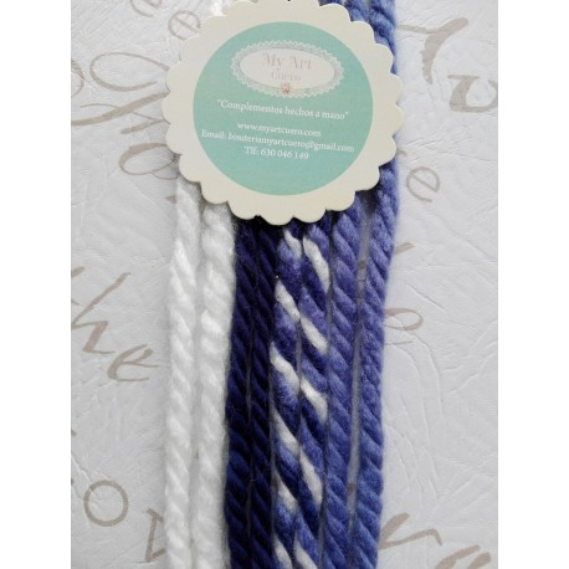 Lazos de lana -  pack 11   8 lazos