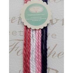 Lazos de lana -  pack 18   8 lazos