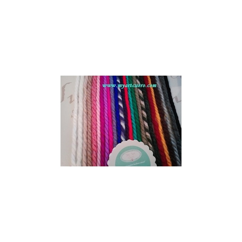 Lazos LANA- completo pack 25 colores
