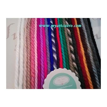 Lazos LANA-  pack 25 colores