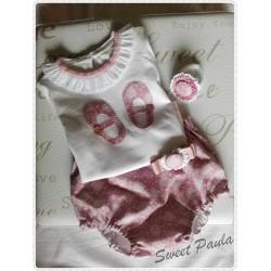 """Conjunto """"Sweet Paula"""""""